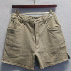 Pants - NWOT Tan Denim Shorts